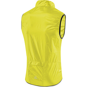 Löffler Windshell Fietsvest Heren, neon yellow